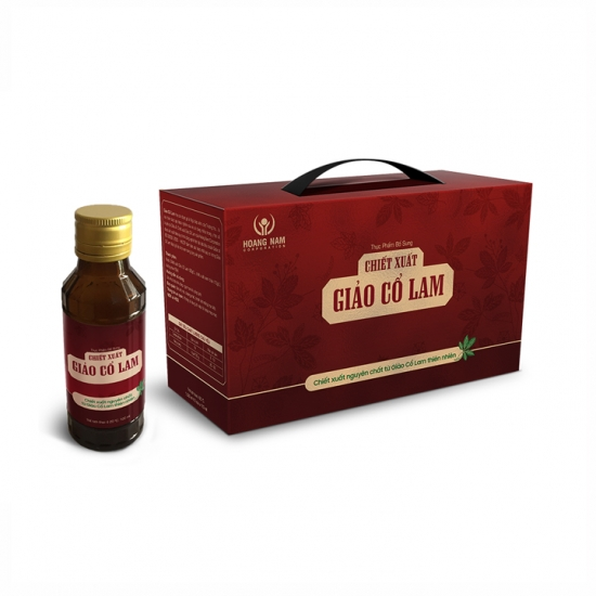 Chiết xuất Giảo Cổ Lam - Hộp 10 chai x 100ml