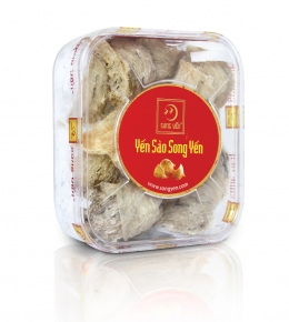 Unprocessed cave bird's nest 100g