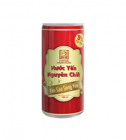 Canned Purity bird's nest drinks 190ml