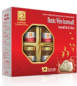 Bird's nest drinks with Isomalt sugar 6-jar box
