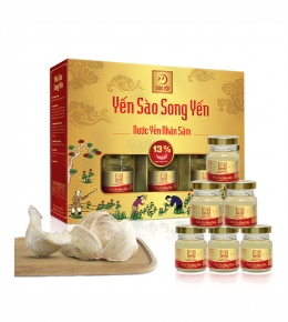 Bird's nest drinks with Ginseng 6-jar box